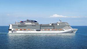 Kruvaziyer Turizminin en büyüğü denize indirilecek