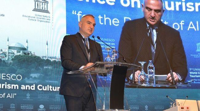 Dünya Turizm ve Kültür Konferansı İstanbul'da Gerçekleşti