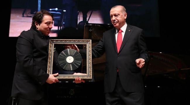 Cumhurbaşkanı Erdoğan, Fazıl Say'ın Konserine Katıldı