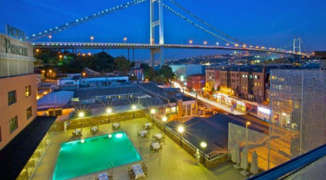 Ortaköy Princess Hotel için konkordato talebi.