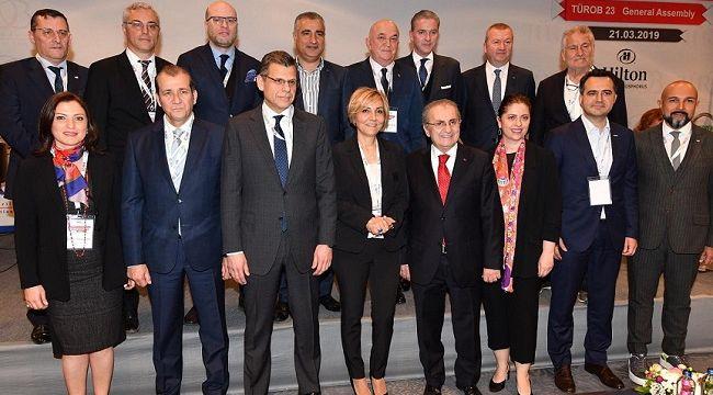 TÜROB Başkanlığı görevine Müberra Eresin seçildi.