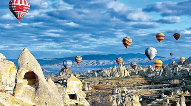 Emsalsiz bir gezi rotası: Kapadokya