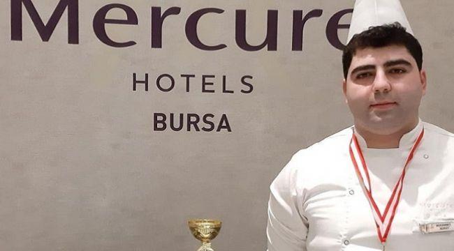 Mercure Hotels Bursa'nın şampiyon şefi: Muhammet Nuray