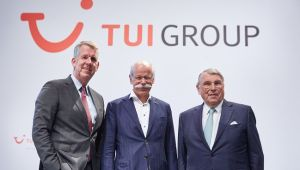 TUI'de bayrak değişimi gerçekleşti.