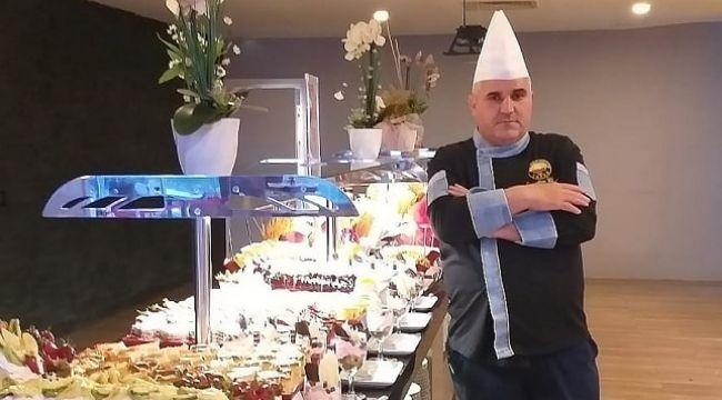 Ramiz Demirel'in mutfağı göz kamaştırıyor.