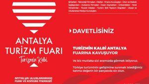 Antalya Turizm Fuarı 28- 29 Ekim'de