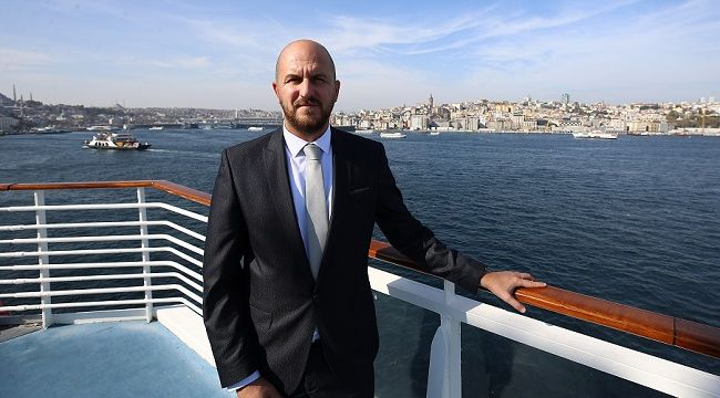 Celestyal Cruises, Sarayburnu Limanı'na yanaştı.