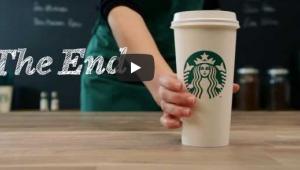 Starbucks'tan Pazartesi Günü Reklamı !