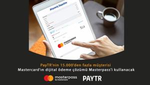 PayTR'nin 15.000'den fazla müşterisi Masterpass'i kullanacak