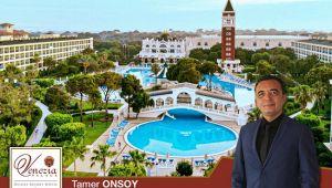 Tamer Onsoy Venezia Palace Deluxe Resort'e geçti