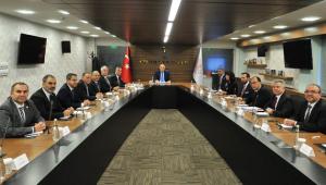 TÜROFED, Yönetimi Bakan Ersoy ile bir araya geldi