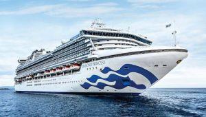 Cruise gemisi turistler ile birlikte karantina'ya alındı