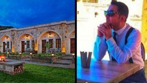 Hakan ZAMAN Seraphim Cave Hotel Cappadocia'yada