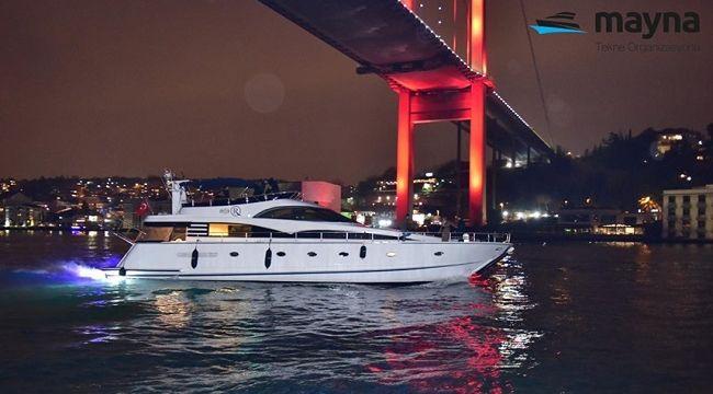 İstanbul'da tekne ve özel yat kiralama seçenekleri