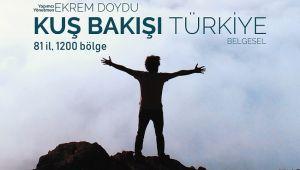 """Emsalsiz bir kültür hazinesi: """"Kuş Bakışı Türkiye"""