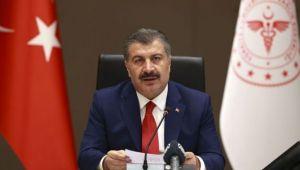 Sağlık Bakanı Koca günlük vaka sayılarını açıkladı