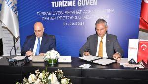 Halkbank'tan TÜRSAB Üyesi Seyahat Acentalarına Destek Paketi