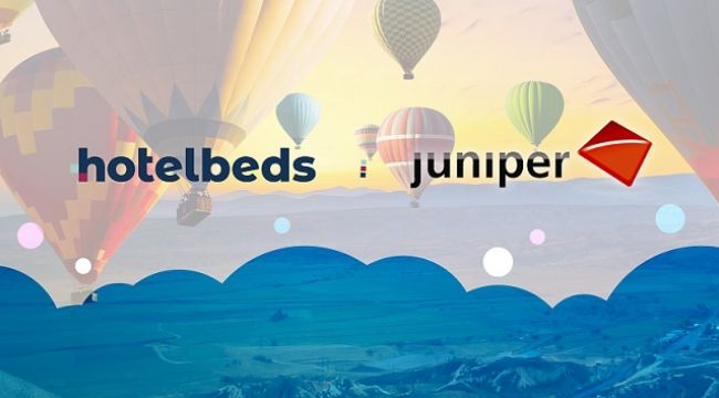 Hotelbeds ve Juniper'den stratejik ortaklık