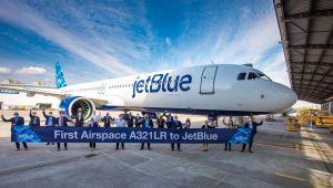 JetBlue, ilk Airspace tasarımlı A321LR'sini teslim aldı