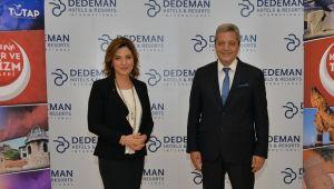 Deneyimli turizmci Banu Dedeman'a büyük onur !